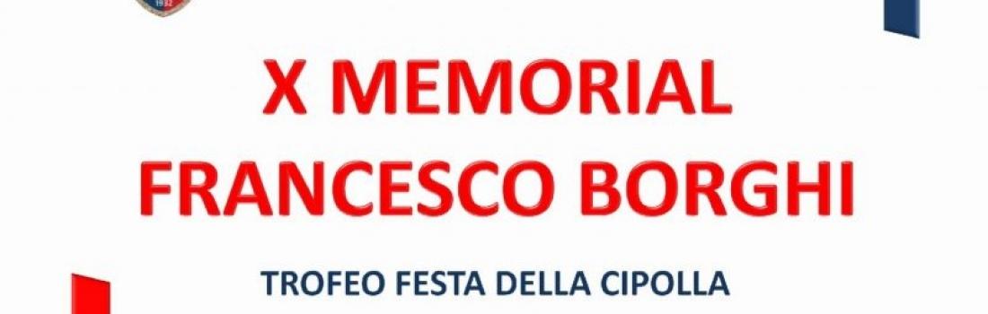 X Memorial Francesco Borghi