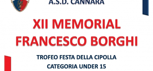 XII Memorial Francesco Borghi
