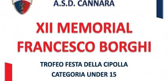 XII Memorial Francesco Borghi